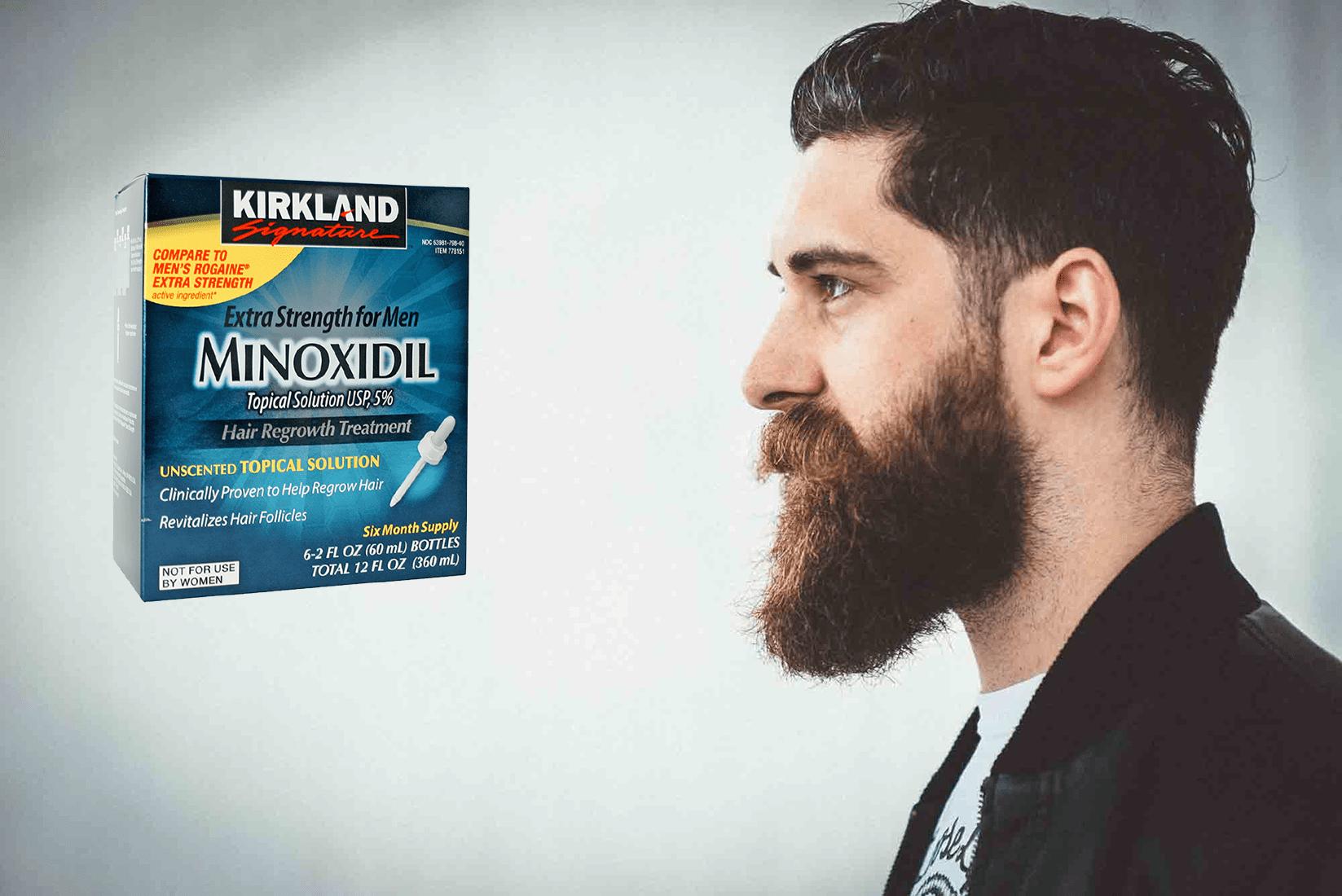 Миноксидил для роста волос ‒ роскошная шевелюра, борода уже после одного месяца применения