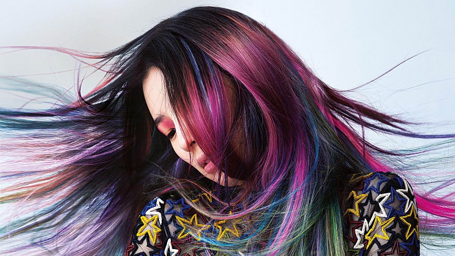 Модные цвета для окраски волос
